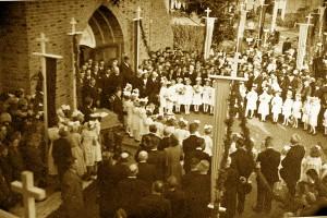 Bouw Bonifatiuskerk 1934 - III