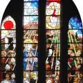 Gebrandschilderd raam - Pinkesteren