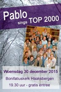 Poster van de Top2000 viering. Klik op de poster voor een vergroting.