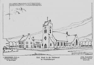 Bonifatiuskerk - tekening